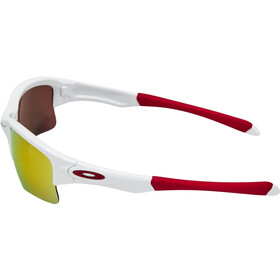 Oakley Quarter Jacket Junior polished white/fire iridium